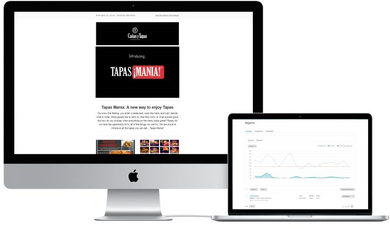 Canas y Tapas Email Marketing