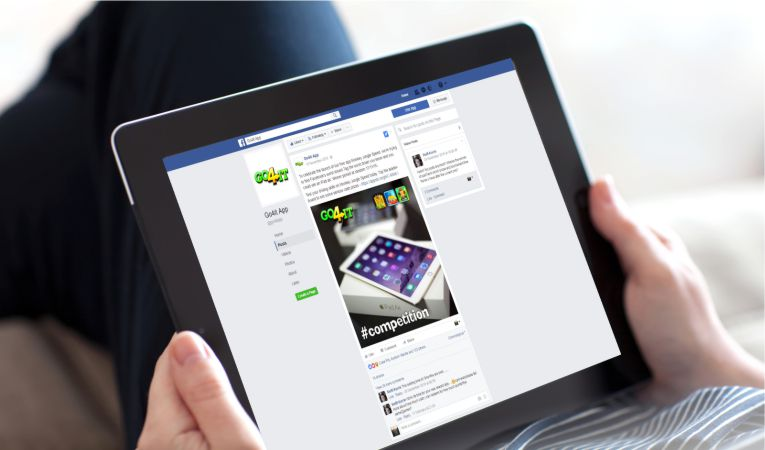 Go4it App Facebook Marketing