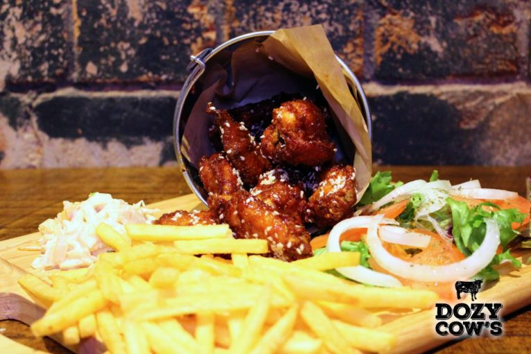 Dozy Cow's Honey Glazed Chicken Wings